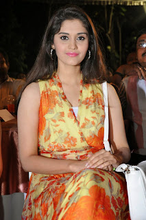 Surabhi in lovely Saree at a audio release function