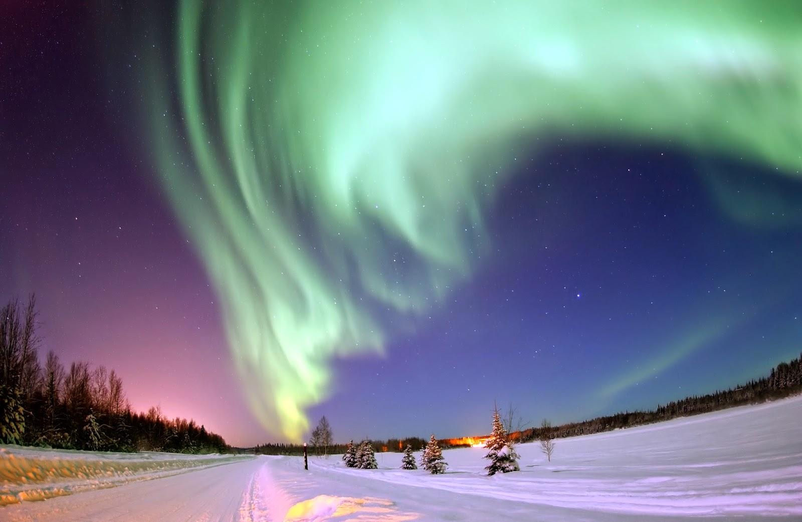 auroras boreales lofoten noruega