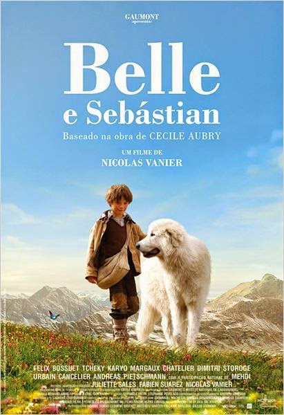 "Poster do filme ""Belle e Sebastian"""