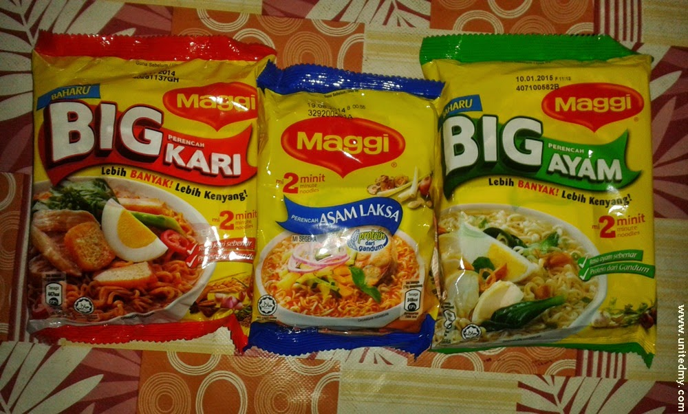 New and old maggi package 2014