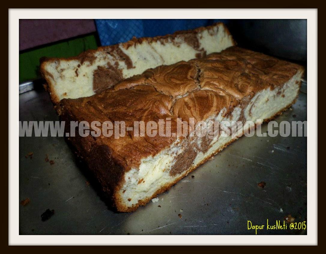Resep bolu marmer sederhana di dapur kusNeti @2015
