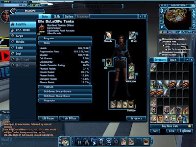 Star Trek Online - Character Equip Window