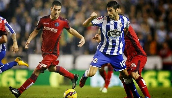 Getafe vs Deportivo La Coruña en vivo