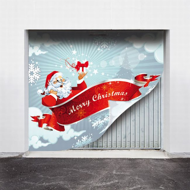 Garage Doors for Christmas