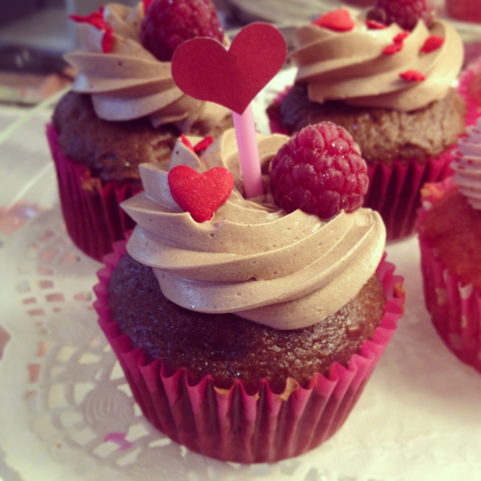 cake choco framboise