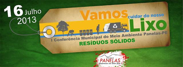 A Primeira Conferência Municipal do Meio Ambiente de Panelas - Pernambuco