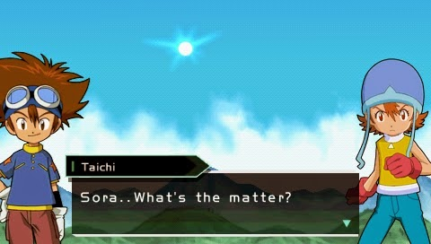 Digimon Adventure PSP Screenshot 2