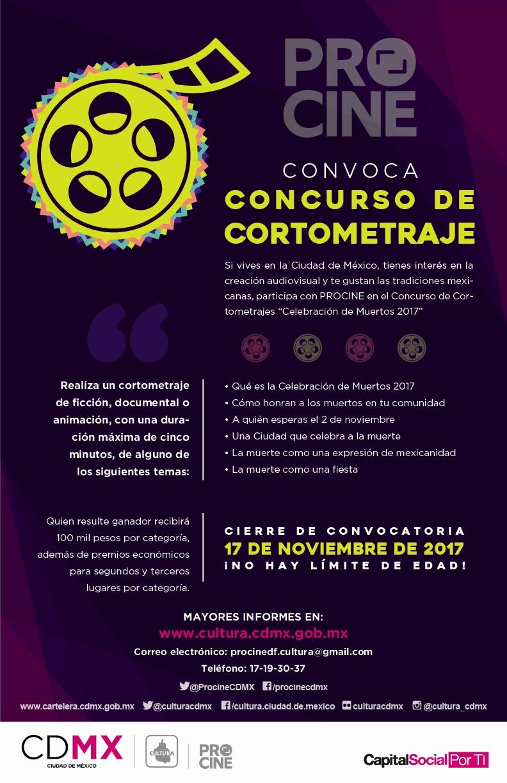 Convocatoria PROCINE 2017