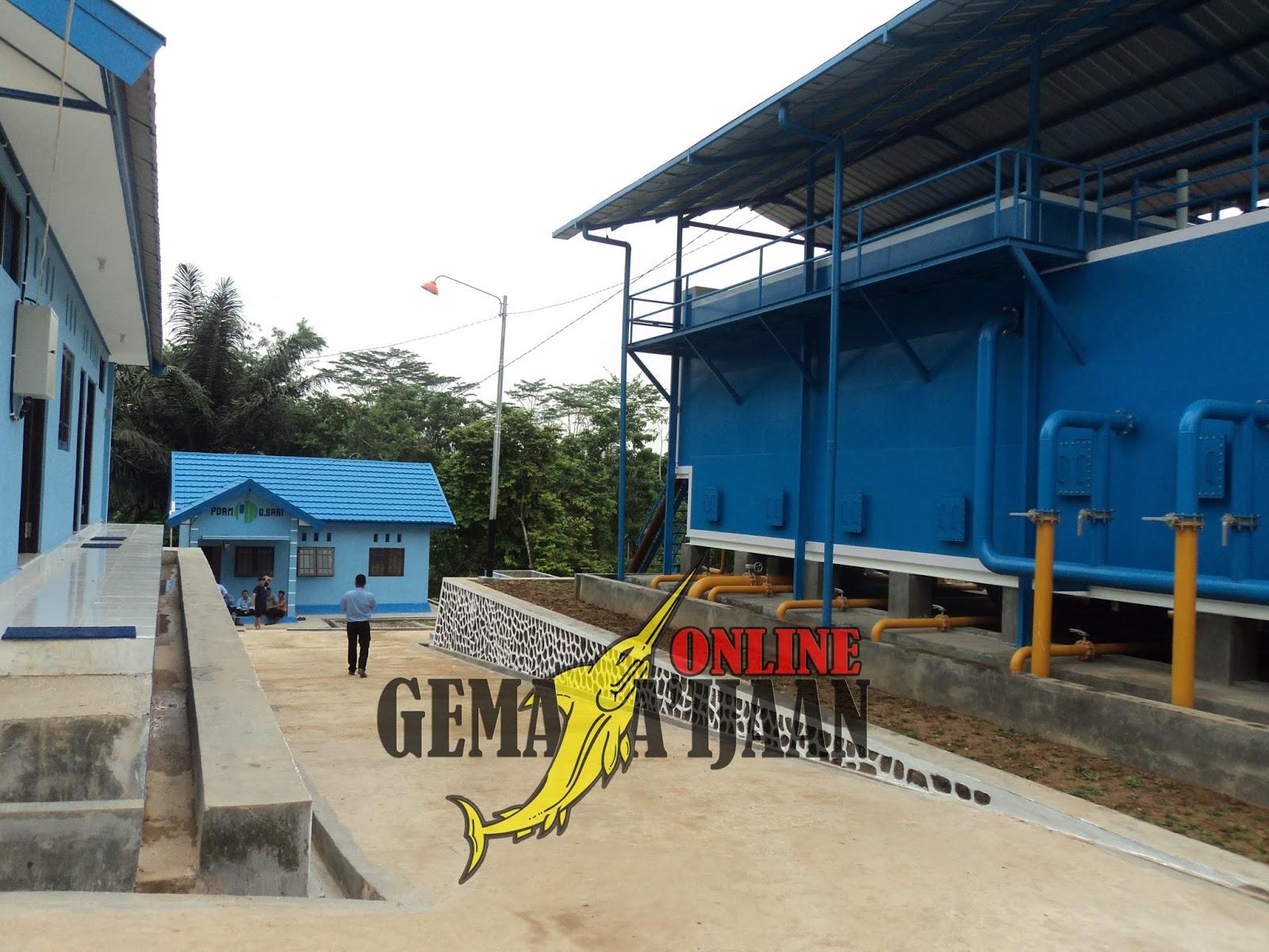 Kotabaru Tambah Bangunan Pengolahan Air Bersih