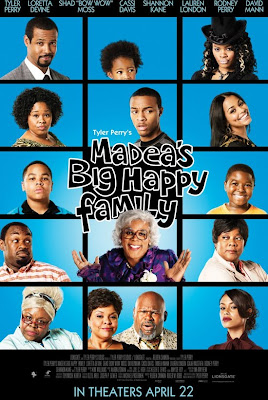 Watch Madea's Big Happy Family 2011 BRRip Hollywood Movie Online | Madea's Big Happy Family 2011 Hollywood Movie Poster