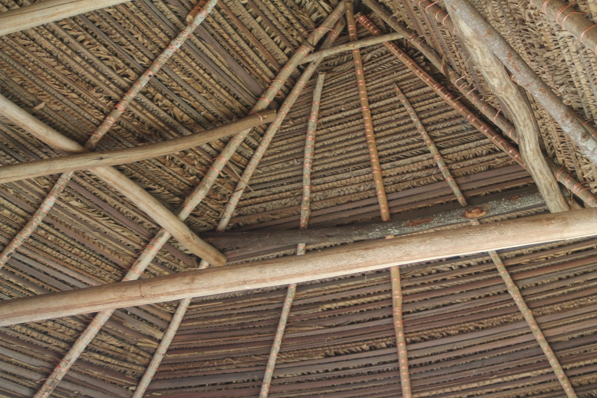 Gorgeous Interior Of Thatched Palapa