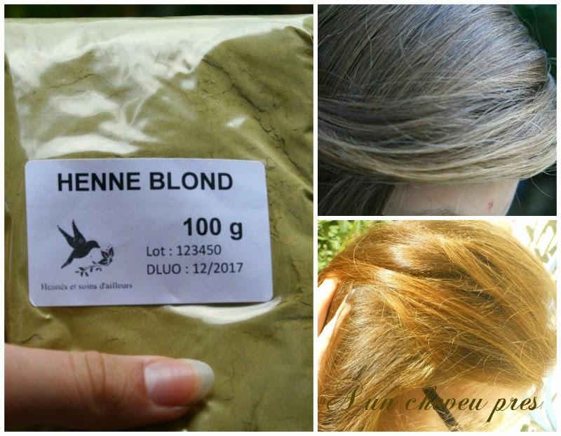 Faire une couleur sur cheveux henne