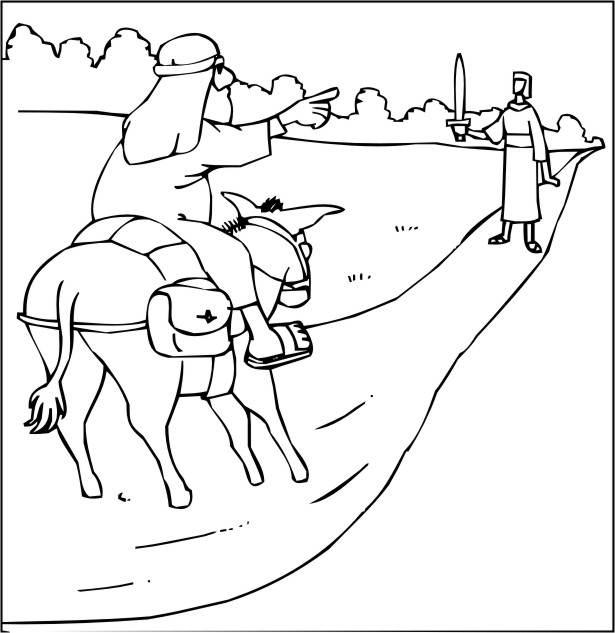 All about Balaam And His Donkey Mission Bible Class - kidskunst.info