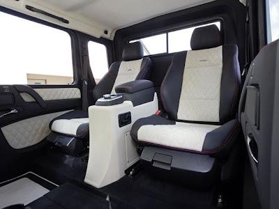 Mercedes-Benz 6x6 G63 AMG Interior