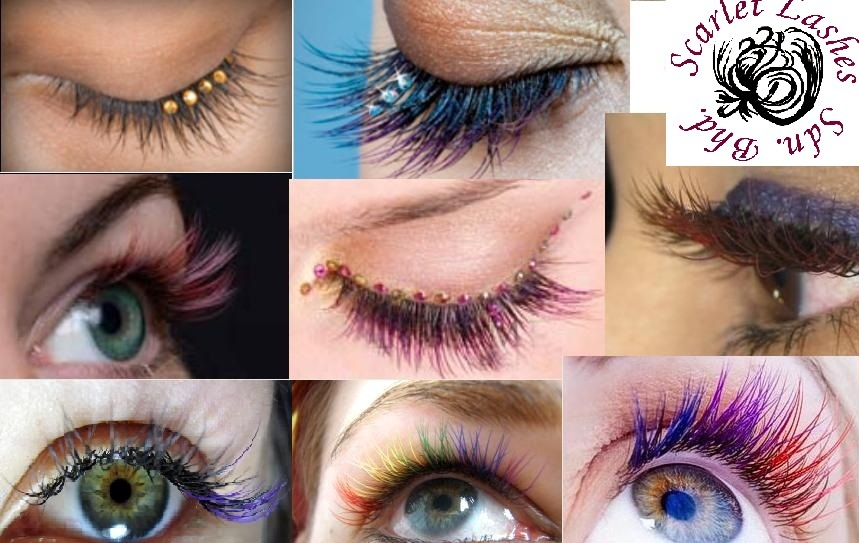 XLashes: Eyelash Extensions: Silk/Mink Single Colored & Two Tone ...