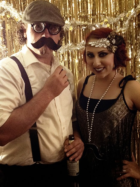speakeasy party photobooth