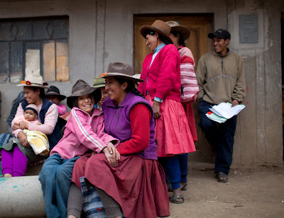 Photo by Marlon Krieger in the rural region outside of Cuzco Peru