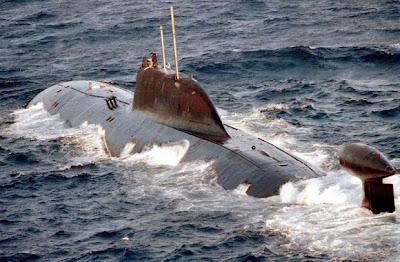 Kapal selam kelas Akula Rusia