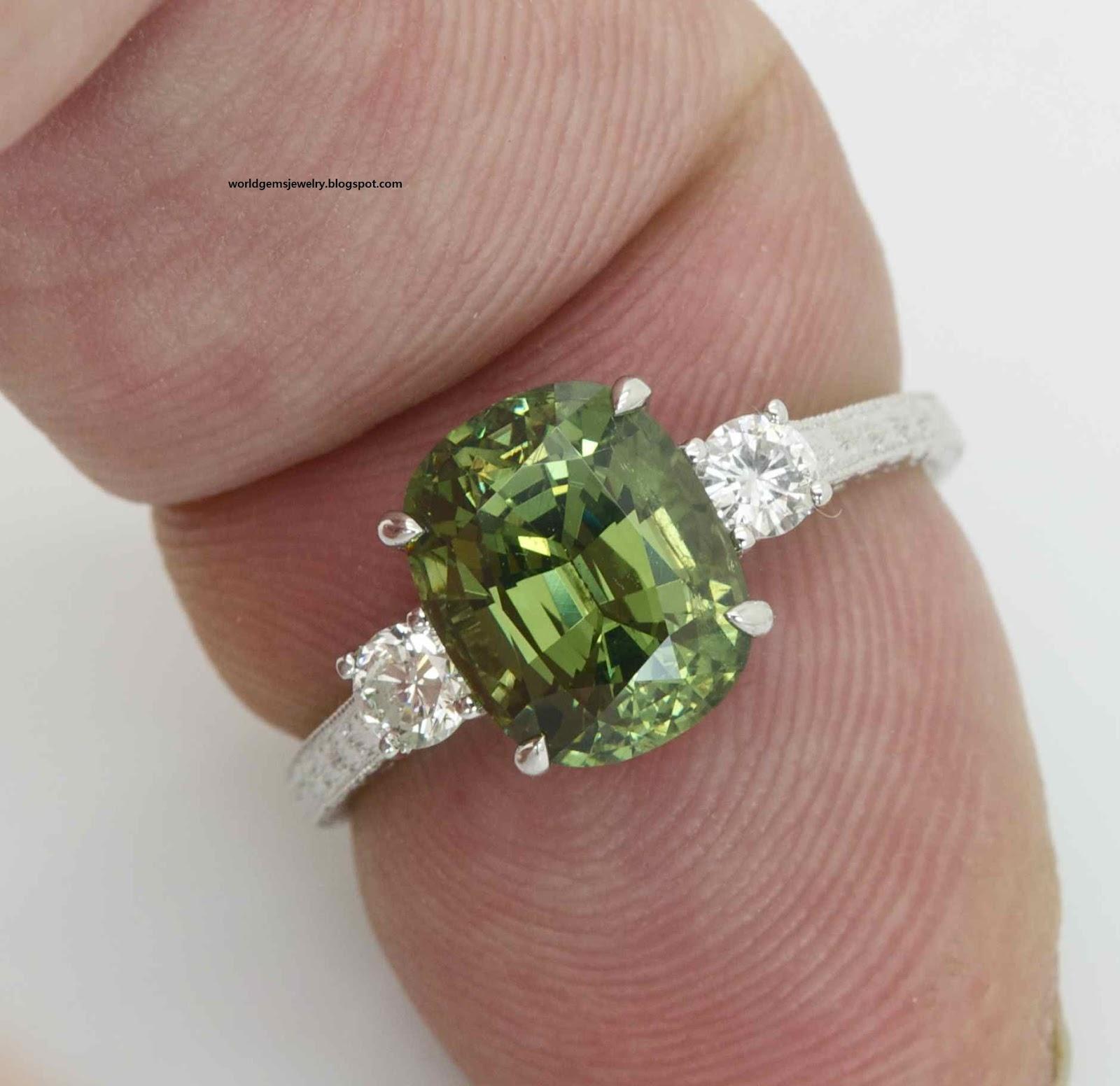 engagement ring demantoid garnet engagement ring 20. Black Bedroom Furniture Sets. Home Design Ideas