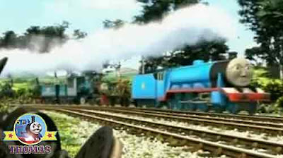 Ferdinand the train grand Gordon train fastest and best and I pull the passenger railroad express