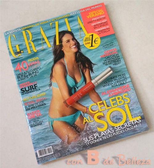 Regalo revista Grazia