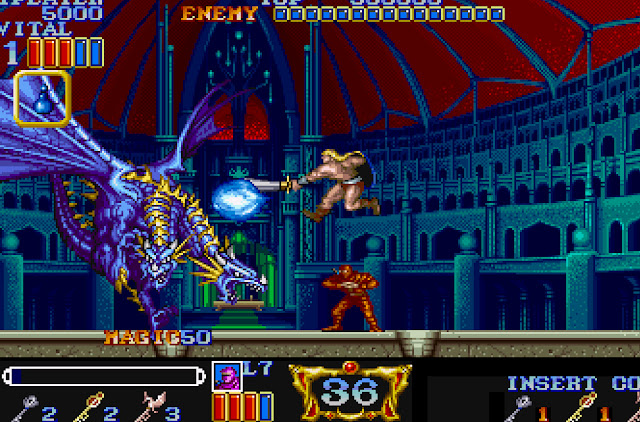 Magic Sword Blue Dragon Screenshot