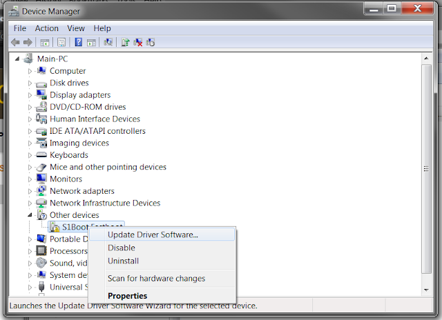 s1 boot fastboot driver download