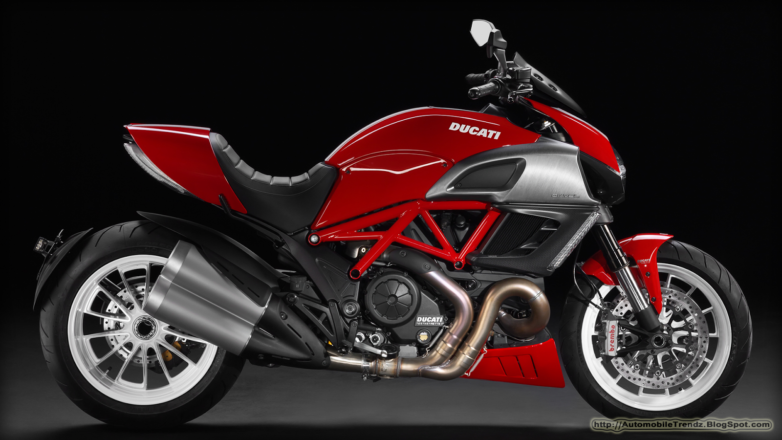 Automobile Trendz  Ducati Diavel 2013 Wallpapers