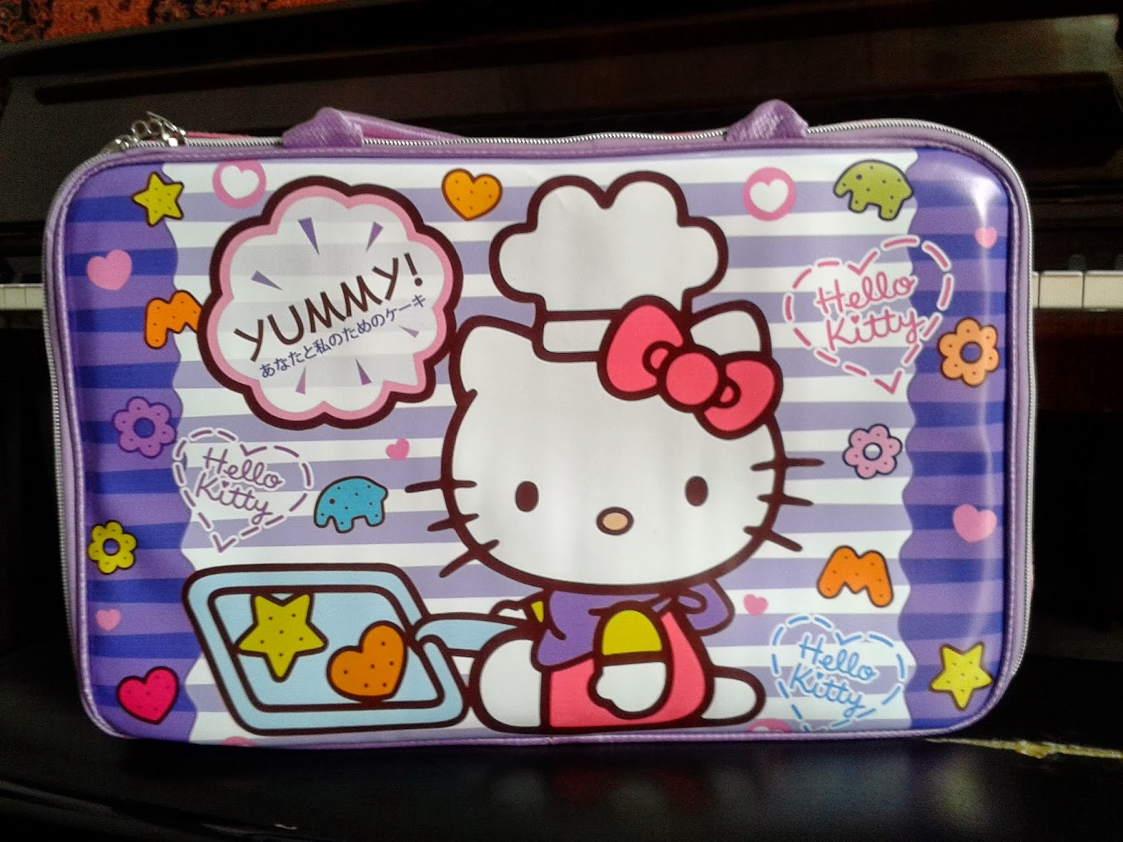 Tas Travel Bag Anak Hello Kitty Murah