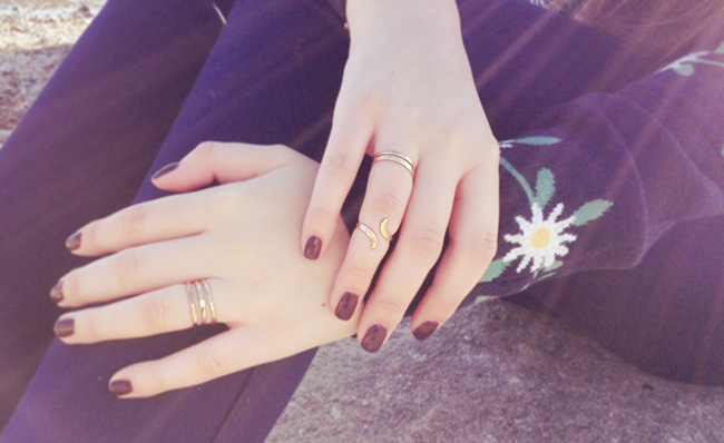 Gypsy Lane Gold Rings