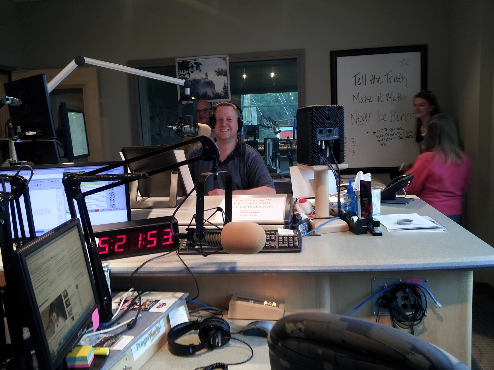 Life in a canned ham: Inside the Radio Station