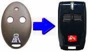 Control remoto BFT 433 Mhz