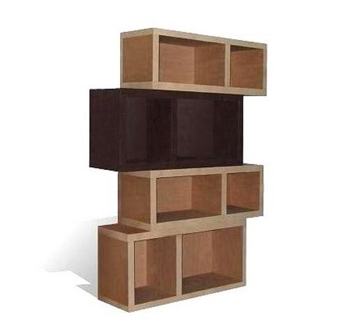 les tag res des katums diff rents types d 39 tag res en carton. Black Bedroom Furniture Sets. Home Design Ideas