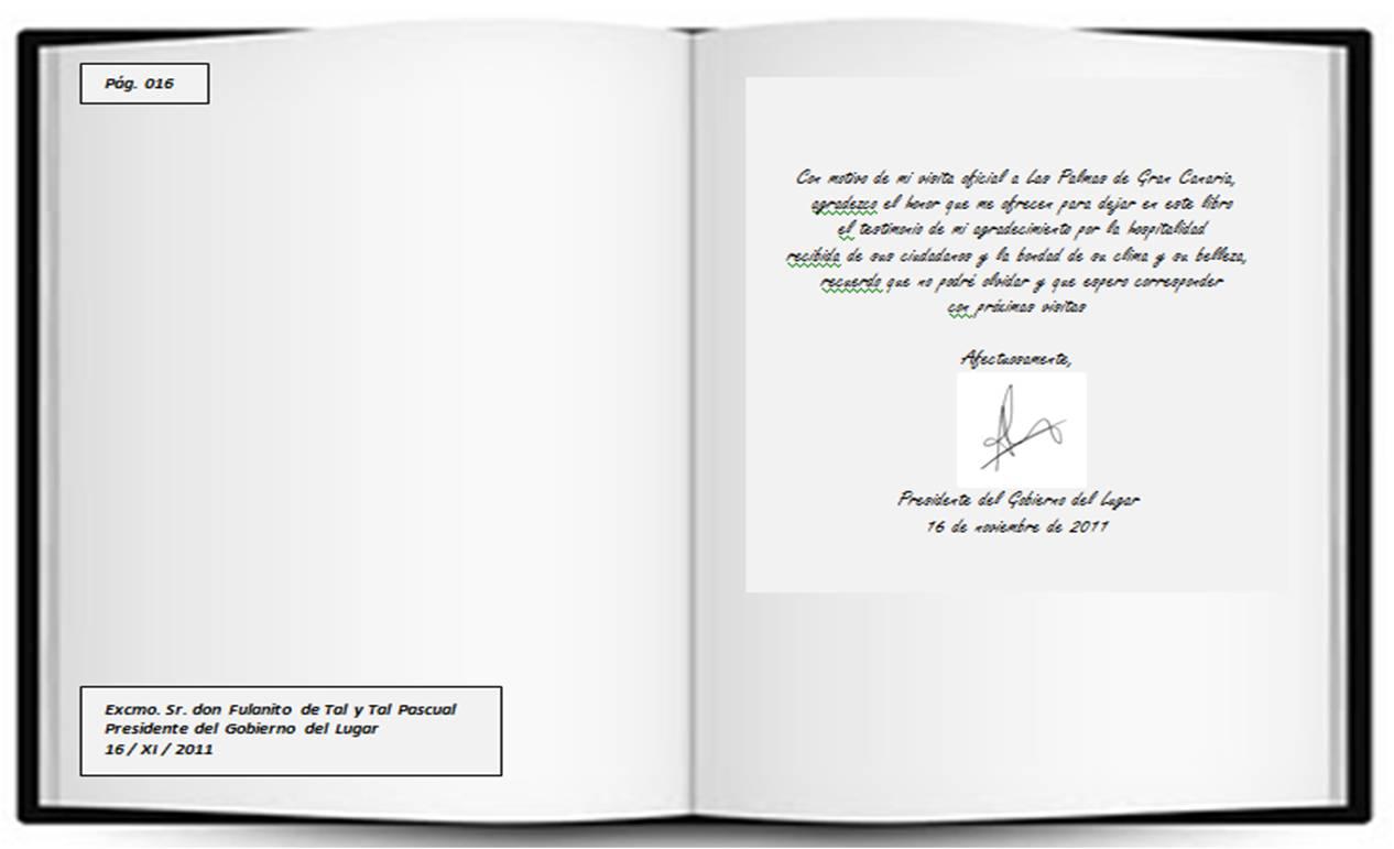 PROTOCOLO vs PROTOCOLO Libro de Honor