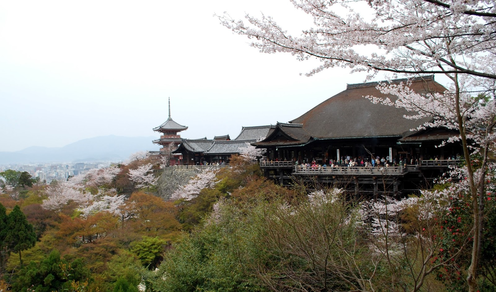 Kiyomizu-dera in Kyoto