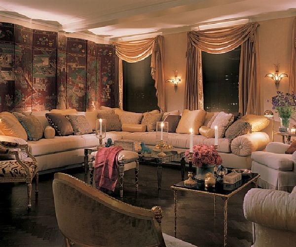 Mariah Carey Livingroom Apartment Design
