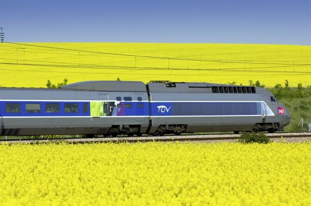 Viajar de Trem pela França