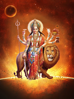 HD DURGA MAA AND AMBE MAA IMAGE