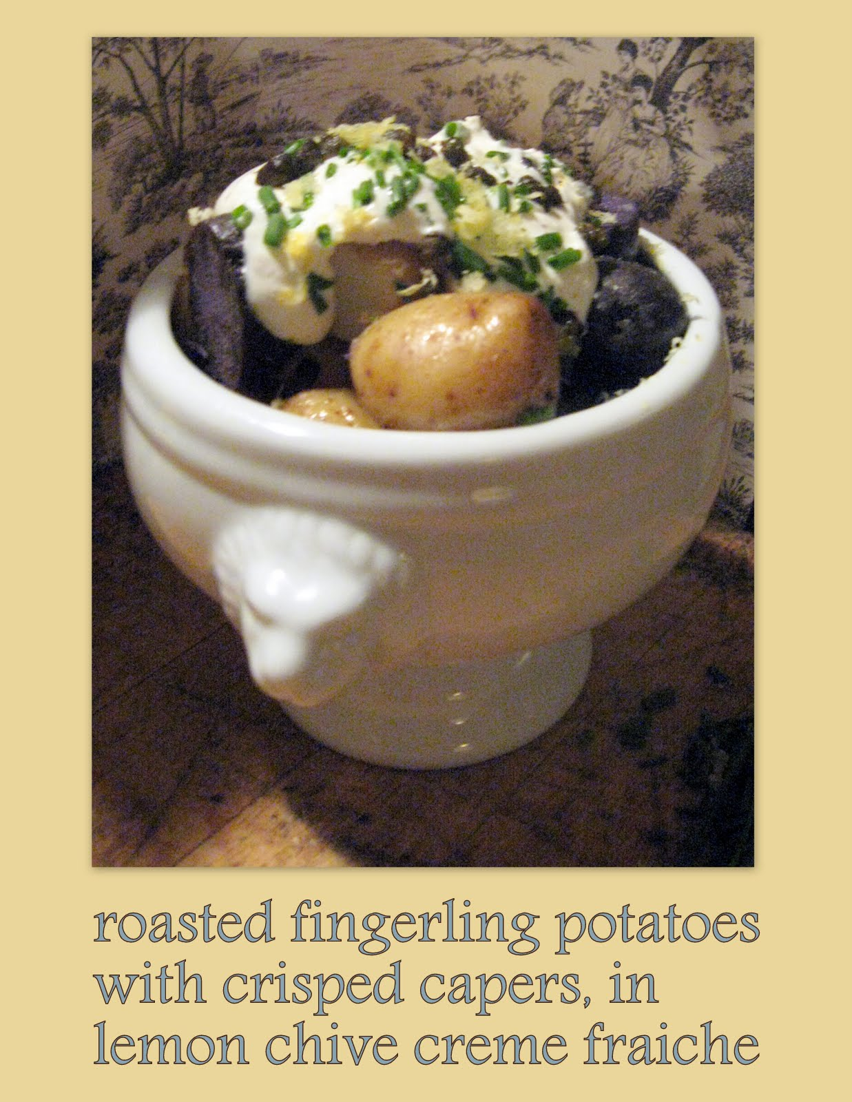 Notes from Maggie's Farm: roasted fingerling potatoes with ...
