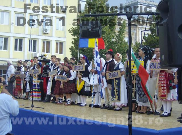 Tari participante la festival si porturi traditionale din Mexic, Serbia, Grecia, Bulgaria si Romania: Branisca, Simeria, Deva, Maramures si Certeju de Sus