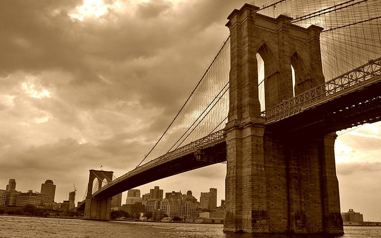 Dionne beard brooklyn bridge background for New york wallpaper rolls