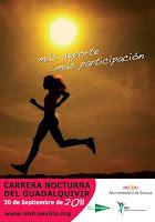 23 Carrera nocturna del Guadalquivir de Sevilla será el 30 de septiembre de 2011