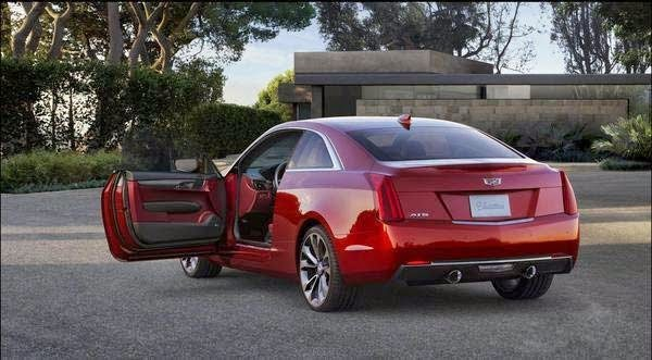 New 2015 Cadillac ATS Coupe Concept Review
