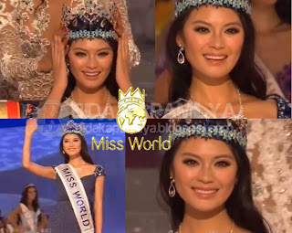 Miss World 2012 winner is Miss China Wen Xia Yu. The 62nd edition of the pageant saw the 2nd time China was crowned in her hometown