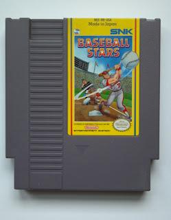 baseball stars NES cartridge