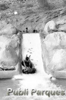 Rápidos aqualandia 1985