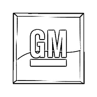 General Motors Logo Sketch