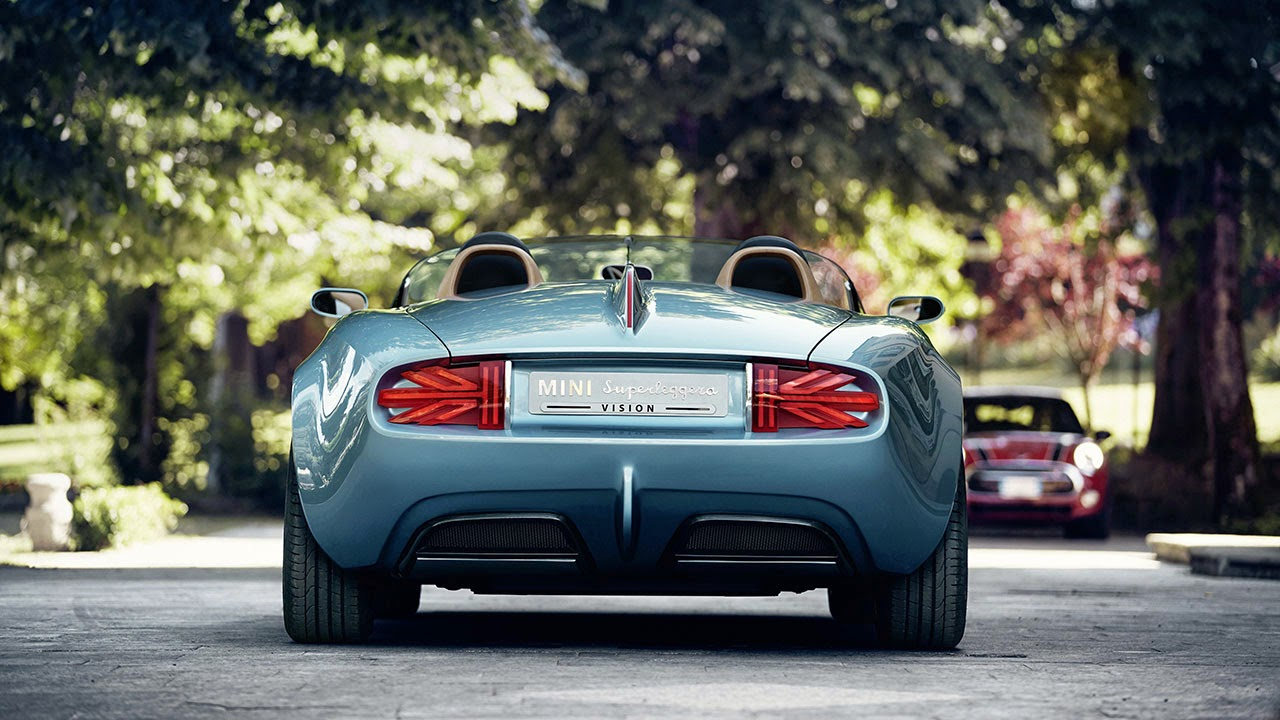 Mini Superleggera Vision rear