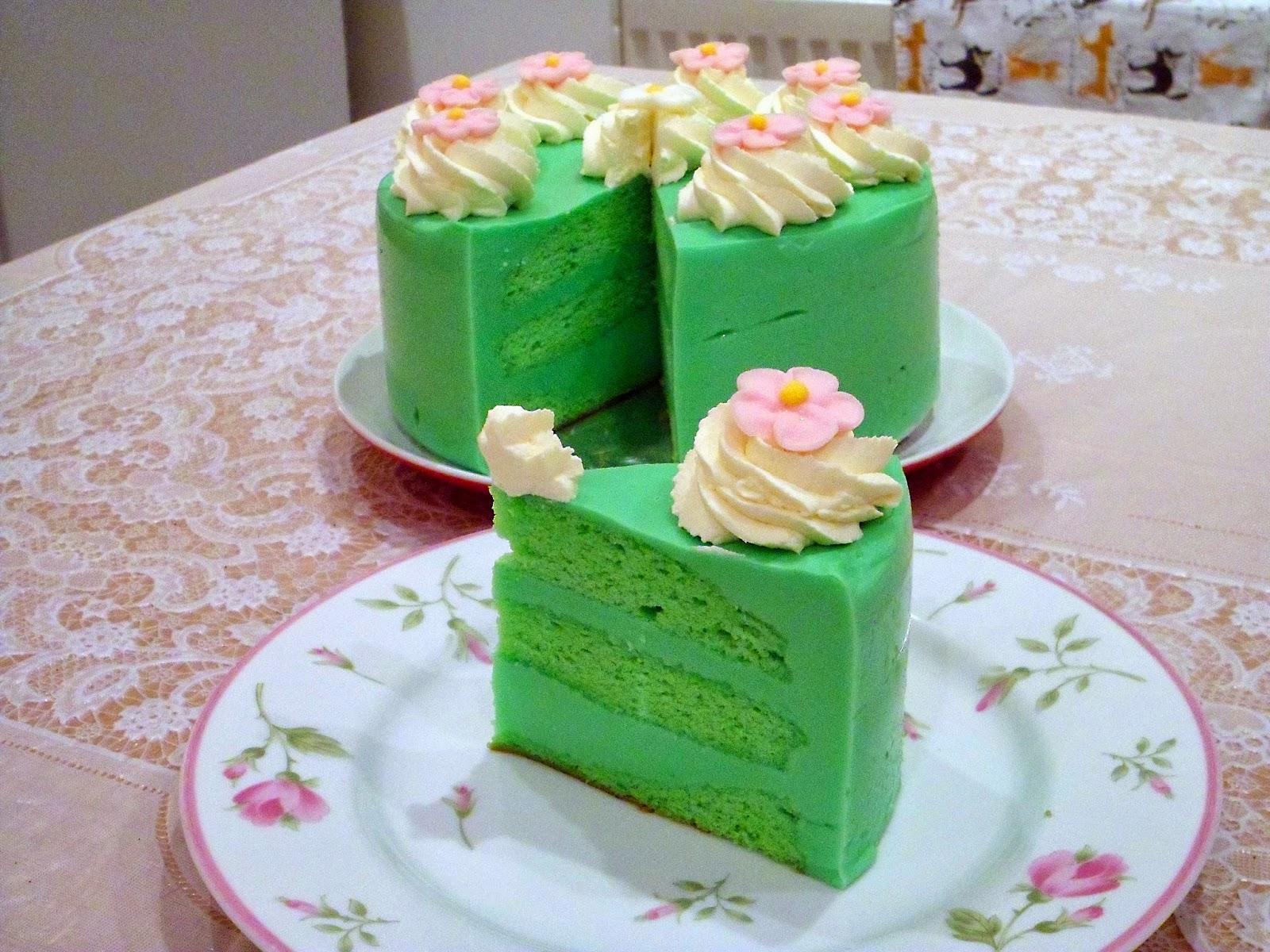 This Years Birthday Cake Pandan Kaya Cake Recipe