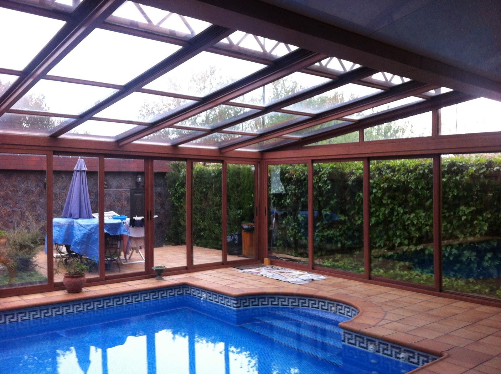 Fotos de cerramientos para piscinas cosmoval - Piscina de cristal ...